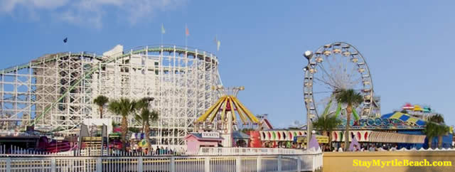 Family Kingdom Water Park At Myrtle Beach Sc
