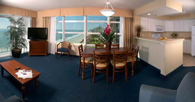 Oceanfront Suites at the Carolinian Hotel