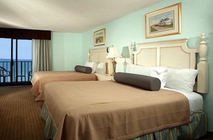 Spacious Oceanfront Bedrooms