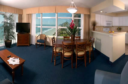 Spacious Oceanfront Suites