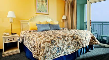 Oceanfront Master Bedroom