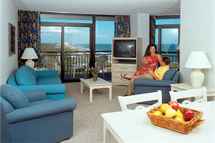 Spacious Oceanfront Suite