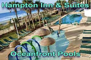 Oceanfront Pools at the Hampton Inn & Suites