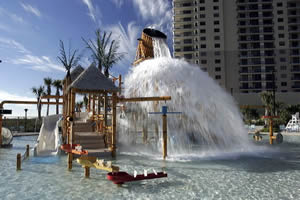 Kid's Oceanfront Water Park