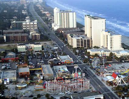 Oceanfront Resort near Ocean Drive Amusement Park