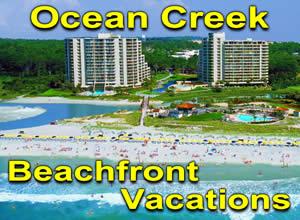 Ocean Creek Resort Beachfront Vacation