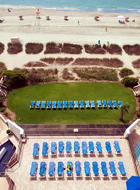 Oceanfront Sun Deck & Tanning Lawn
