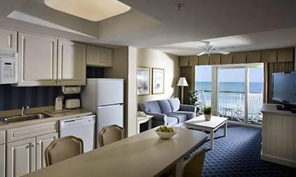Spacious Oceanfront Suites