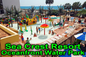 Sea Crest Resort Oceanfront Water Park