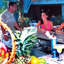 Oceanfront Tiki Bar