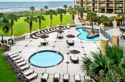 Oceanfront Lazy River & Pool