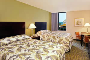 Ocean View Room with 2 Queen Beds