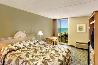 Ocean View Hotel Room with King Bed