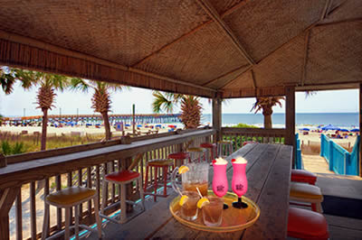 Oceanfront Beach Bar