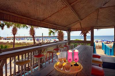 Oceanfront Beach Bar