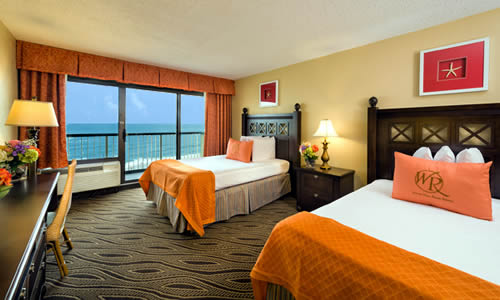 Luxury Oceanfront Hotel Room
