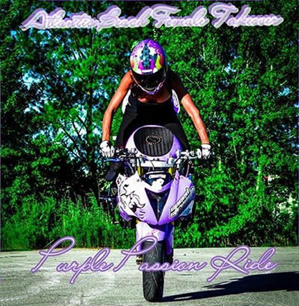 The Purple Passion Ride Black Bike Week Stay Myrtle Beach