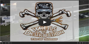 Wheels of Destruction Car Jump & Crash