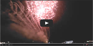 Broadway at the Beach Fireworks Video