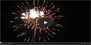 Murrells Inlet MarshWalk 4th of July Fireworks Video