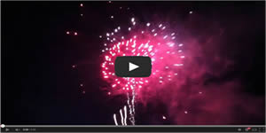 Myrtle Beach Pelicans Fireworks Video