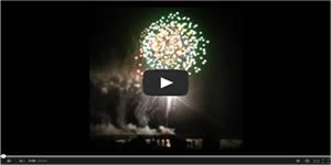 Surfside Beach Pier Fireworks Video