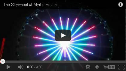 Myrtle Beach Skywheel Video